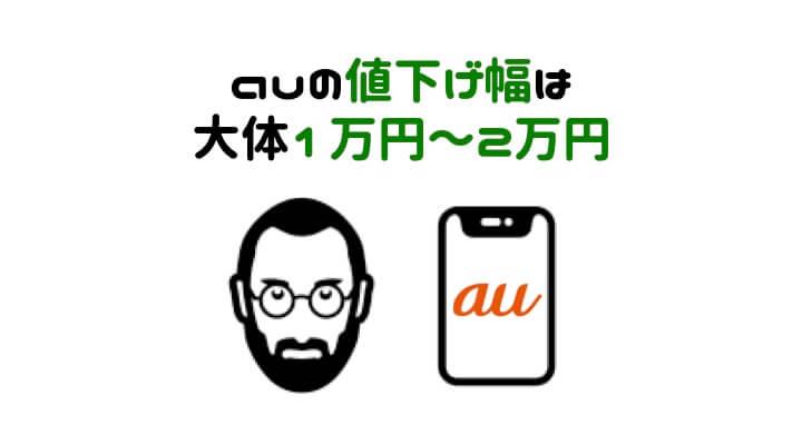 iPhone 値下げ時期 au
