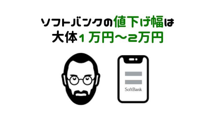 iPhone 値下げ時期 ソフトバンク