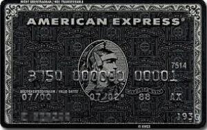 ステータス 高い クレジットカード アメックスセンチュリオンカード 券面