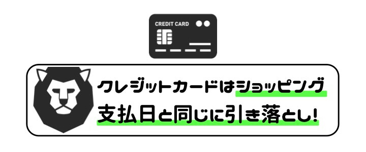キャッシングリボ クレジットカード 返済日